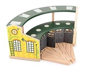 Pequeña Empresa Foot (smb5v) - 8558 - Ferrocarril Modelado - Edificio - Almacén Locomotoras - Round House