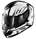 Best Motorcycle Helmets - HE4020EKWRM - Shark D-Skwal Dharkov Motorcycle Helmet M Review