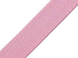 maDDma ® 25 Meter Gurtband, 20mm, Rosa