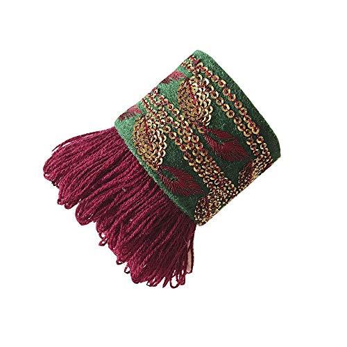 Pulseras mujer-tela-hechas mano/Brazalete mujer india