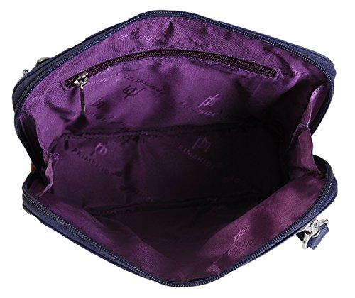 Prime Hide - Borsa a tracolla Ragazza donna unisex adulti Purple