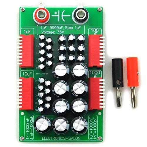 electronics-salon Größen von 1uF bis 9999uf step-1uf Vier Jahrzehnt programmierbar Kondensator Board.
