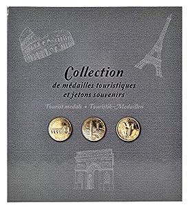 Exacompta 96113e-Álbum de Recortes 50Souvenir de medallas, Gris