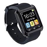 CHEREEKI Bluetooth Smartwatch Sports Smart Fitness Montre bracelet Montres téléphoniques avec multi-langue Pedometer écran tactile pour Samsung Note 8 HTC Sony LG Huawei P9 et autres appareils Android