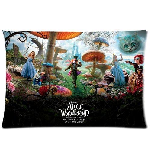 Chihuahua Alice im Wunderland, 20 x 30 cm, Baumwolle, 2-seitig, mit & Polyester Kissen Kissenbezug Hülle Modell: CHH - 0137 bauen auf Bestellung??