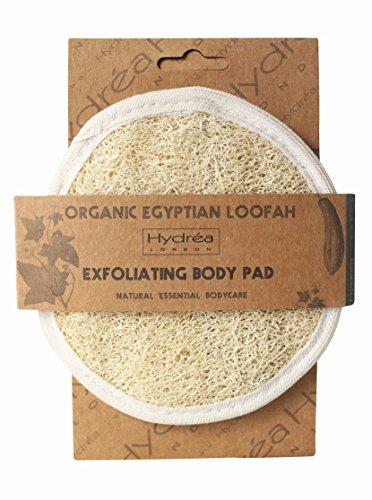 Esponja Exfoliante Hydrea London Orgánica Egipcia Cuidado Facial y Corporal 15cm