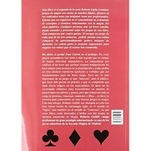 Roberto extra/light : juegos de magia con cartas