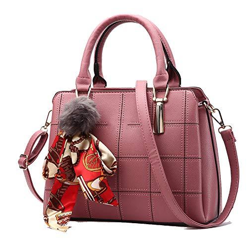 BAILIANG Lady Messenger Bag Handtasche Schultertasche Handtasche PU Herstellung Bulk Wild,Pink-OneSize
