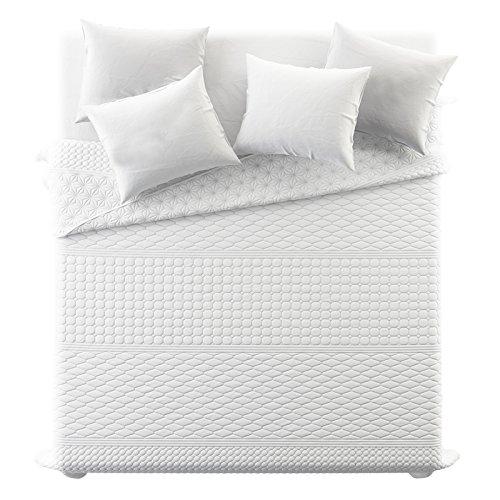 JEMIDI Bett und Sofaüberwurf XL Doppelbett gesteppt 220 x 240 Tagesdecke Überwurf Husse Decke XXL Tagesdecken Steppdecke gesteppt (Design 35)