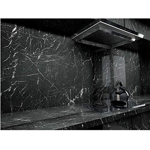 fenjinsheng Fliesenaufkleber 60X300Cm Verdicken Küchentapete Wasserdicht Und Ölbeständig Fliesen Marmor Aufkleber Schränke Desktop Alte Möbel Renoviert Selbstklebend
