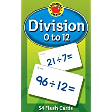 Division 0 to 12 Learning Cards