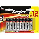 Energizer LR6 AA Mignon Max Battery (Pack Of 12)