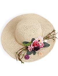 Beach Sun Hat Lady Summer Hat Sun Hat Anti-ultraviolet Sun Hat Beach Hat Big Along The Sunscreen Hat Soft and comfort