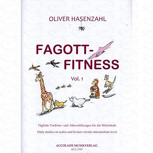 Fagott Fitness 1 - arrangiert für Fagott [Noten/Sheetmusic] Komponist : HASENZAHL OLIVER