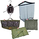 Fishing-One Outdoor Set Kescher/Abhakmatte/Wiegsack/Waage/Sack