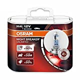 Osram 2 Stück H4 Night Breaker Unlimited 60/55 Watt 12 Volt 64193NBU-HCB KFZ Lampe