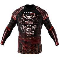 Rashguard SMMASH SAMURAI Manga Larga MMA BJJ UFC S M L XL XXL XXXL (L)