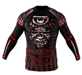 SMMASH Rashguard SAMURAI longsleeve MMA BJJ UFC - Size S M L XL XXL XXXL (M)