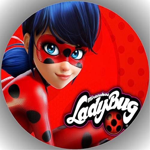 Fondant Tortenaufleger Tortenbild Geburtstag Miraculous Ladybug N13