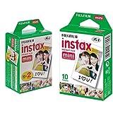Fujifilm - Film Instax Mini lot de 40 Films