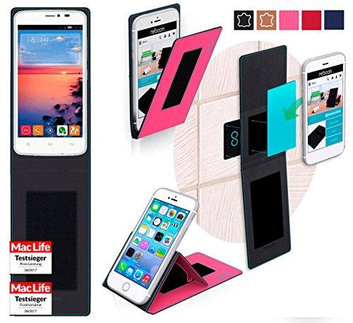 reboon Hülle für Gionee CTRL V4S Tasche Cover Case Bumper | Pink | Testsieger
