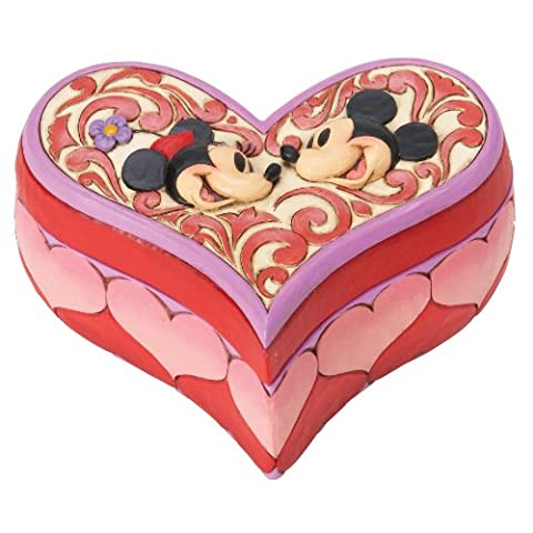 Disney Traditions Mickey and Minnie Mouse Love Keeper Box
