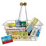ItsImagical 87613 - Shopping Basket & App Cestino della Spesa con Cibi Giocattolo