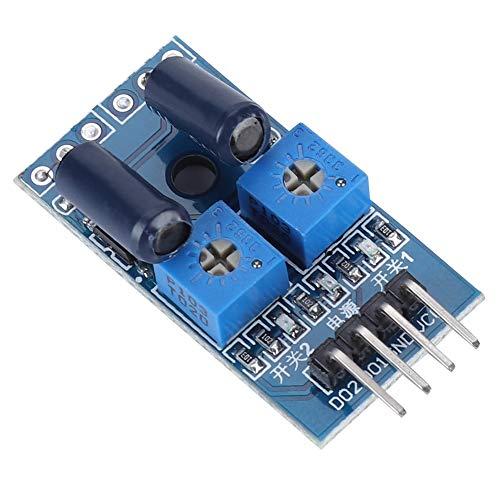 Denash Erschütterungssensor-Sensormodul mit 2 Kanälen und normalerweise offenem Typ (Tv Verwendet Fire Game-controller)