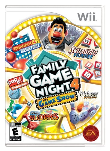 Family Game Night 4: The Game Show - Nintendo Wii by Electronic Arts