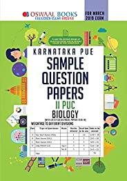 Oswaal Karnataka PUE Sample Question Papers For PUC II Biology (March 2019 Exam)