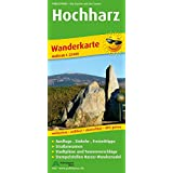 Hochharz: Wanderkarte mit Stadtplänen Braunlage und Schierke,  Ausflugszielen, Einkehr- & Freizeittipps, Straßennamen und Stempelstellen Harzer ... reissfest, abwischbar, GPS-genau. 1:25000