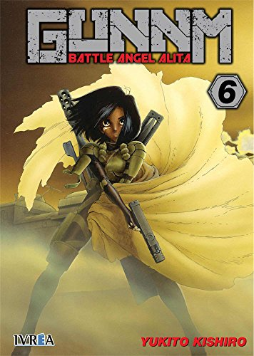 Gunnm battle angel alita 6 editado por Ivrea