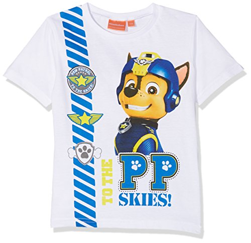 Nickelodeon Paw Patrol Sky and Sea, T-Shirt Garçon Nickelodeon