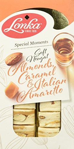 Lonka Soft Nougat Mandel Caramel Amaretto, 10er Pack (10 x 135 g)