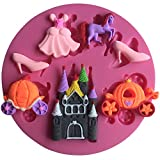 Karen Baking Kleid, Pferd, Schuh-Design Weihnachten Fondant Silikon Backform für Kuchen-Kuchen, der Werkzeuge