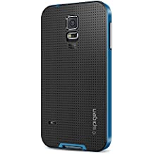 Spigen SGP10776 - Funda para Samsung Galaxy S5, Negro/Azul