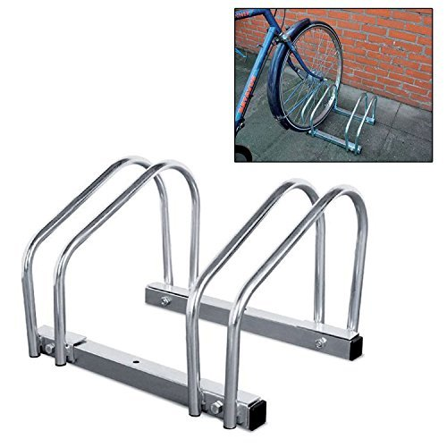 Dr Velo Floor/Wall Mounted 2 Bike Bicycle Cycle Rack Stand by Fifth Gear