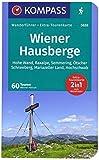 Wiener Hausberge: Wanderführer mit Extra-Tourenkarte 1:80.000, 60 Touren, GPX-Daten zum Download. (KOMPASS-Wanderführer, Band 5632) - Werner Heriszt