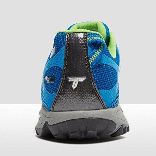 Columbia Conspiracy Titanium Outdry, Chaussures de Randonnée Basses Homme Multicolore - Multicolor (Static Blue/Green Mamba)