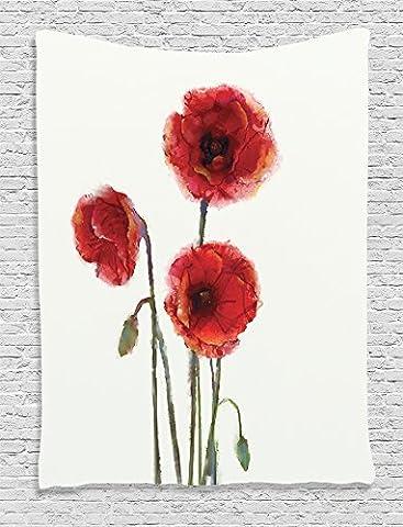 Ambesonne Maison Decor Collection, chambre à coucher Salon Dortoir Décoration murale à suspendre tapisseries, Multicolore, Tissu, Multi 7, 40