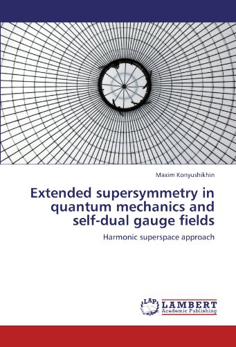 Extended supersymmetry in quantum mechanics and self-dual gauge fields: Harmonic superspace approach -