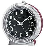 Seiko Unisex sveglia analogica rosso QHE133R