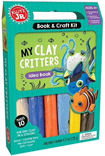 My Clay Critters (Klutz Jr. Book & Craft Kit) (Sculpture Clay Kit)