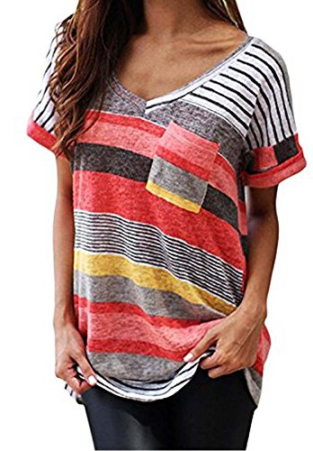 liqy-women-colourful-striped-summer-short-sleeve-v-neck-blouse-tops-shirt