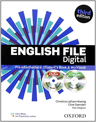 English file digital. Pre-intermediate. Student's book-Workbook. With keys. Per le Scuole superiori. Con espansione online