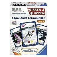 Ravensburger-00750-tiptoi-Spiel-Wissen-Quizzen-Spannende-Erfindungen Ravensburger 00750 – tiptoi Spiel Wissen & Quizzen: Spannende Erfindungen -