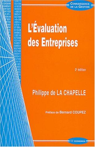 L'Évaluation des entreprises