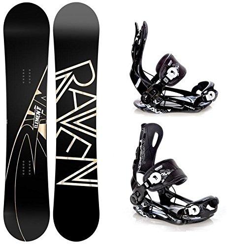 Raven Snowboard Element Carbon Länge: 158cm Wide + Bindung Fastec FT270 Black XL