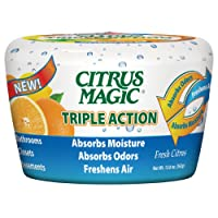 Citrus Magic 618372454 Triple Action Moisture and Odor Absorber by Citrus Magic