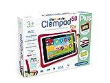 Clementoni 69481.5 - Clempad, Tablet per bambini dai 3 anni in su, diplay da 5', Versione Tedesco